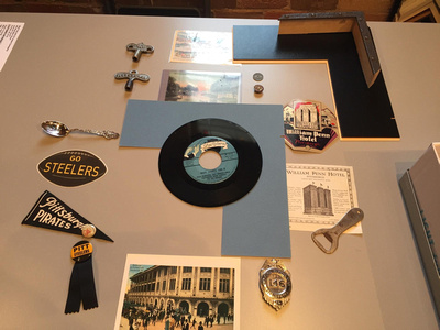 Components of the Pittsburgh shadowbox.