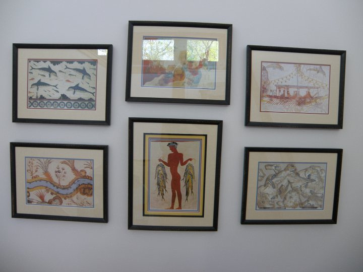Framed Images from Greece