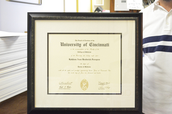 Bull City Art & Frame Company | Graduation and Certificate Examples ...