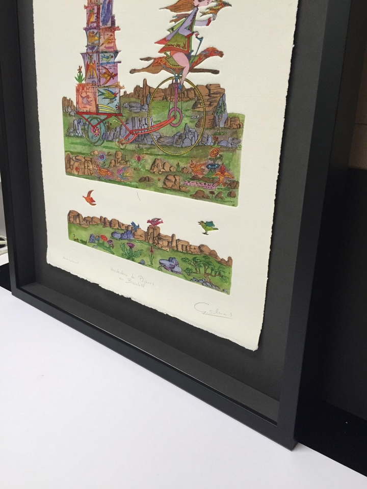 Bull City Art & Frame Company | Float Mount Examples